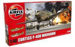Curtiss P-40B Warhawk 1:48 Scale A05130