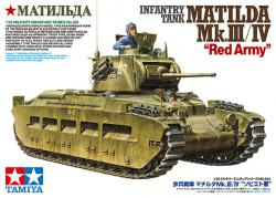 Tamiya Infantry Tank Matilda Red Army Mk-III-IV 1-35 35355