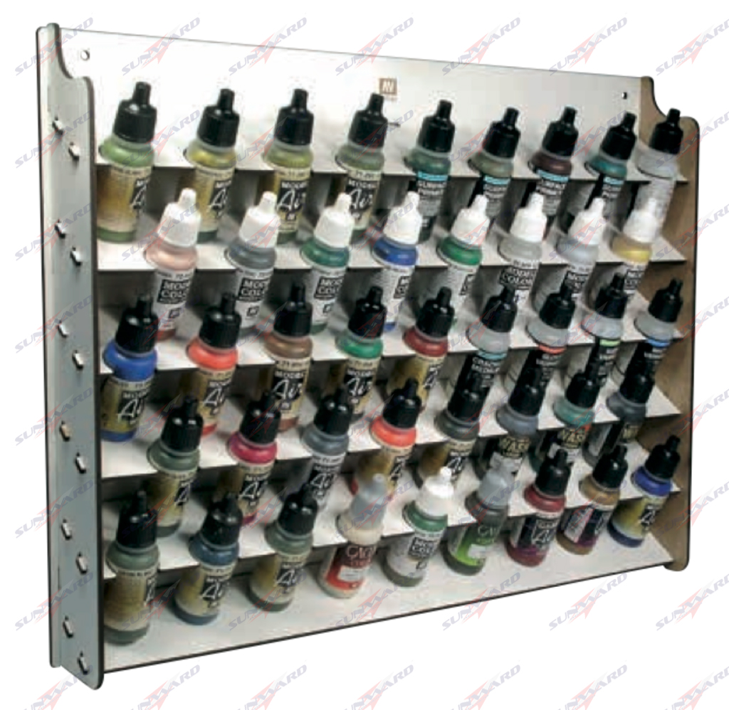 Game color vallejo - Vallejo Wall Mounted Paint Display For 17 Ml Bottles 26010
