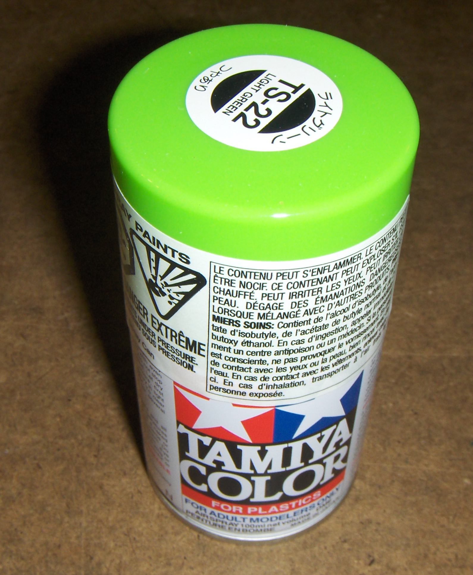 Tamiya Spray Paint Ts22 Light Green Online Shopping For Canadians Model Paints Tools