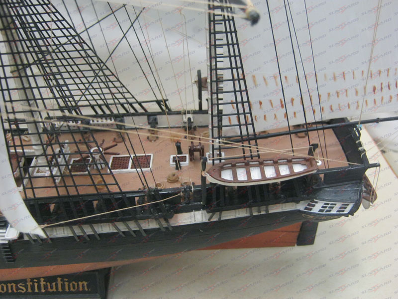 Completed USS Constitution Ship Model Now Available ... Uss Constitution Pictures Of Deck