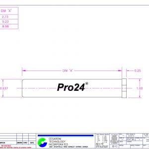 CTI Pro24 Hardware Dimensions