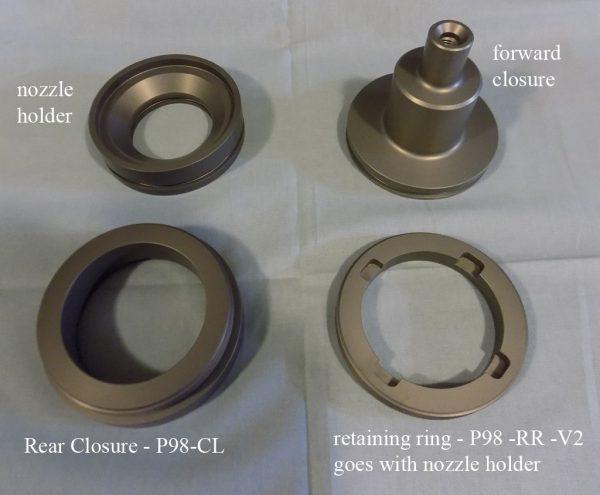 Pro98 Closure Set P98-CLS-V2 GEN 2