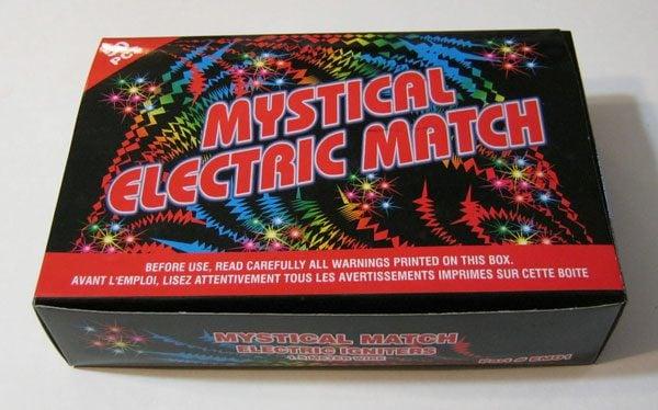 Electric Match Box