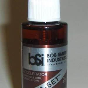 Bob Smith Insta-Set Accelerator for CA Cyanoacrylate Glue 2 oz