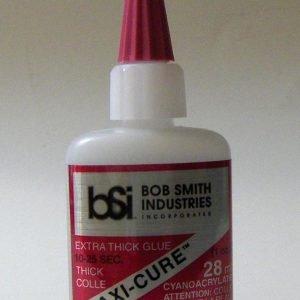 Bob Smith Maxi Cure Extra Thick CA Glue 28ml