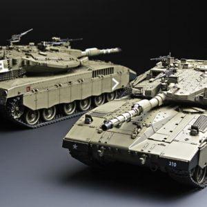 Meng TS-001 Israel Main Battle Tank MERKAVA Mk.3D Early