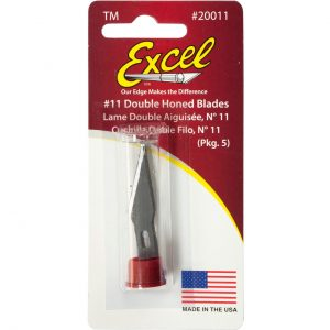 B11 Super Sharp Carbon Steel Double Honed Blade 20011 Excel