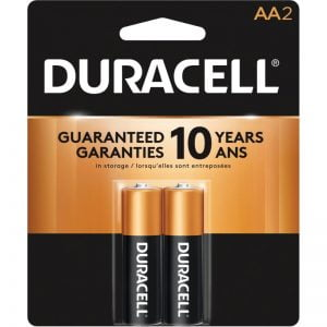 Duracell Coppertop AA Batteries 2 Pack