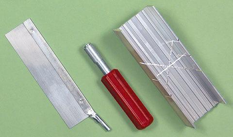 Aluminum Mitre Box Set 55666 Excel Hobby Blades Corp