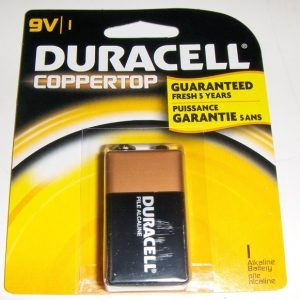 Duracell Coppertop 9 Volt