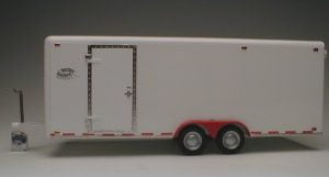 Galaxie 21 Foot Tandem Axle Tag Along Trailer side view