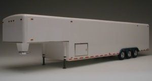 Galaxie 38 Foot Tri Axle Fifth Wheel Trailer Kit side view