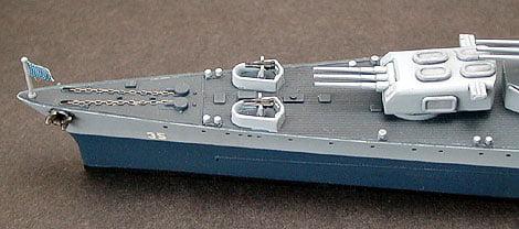 US Navy CA 35 Indianapolis Cruiser Waterline Tamiya 31804 a