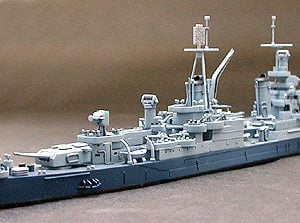 US Navy CA 35 Indianapolis Cruiser Waterline Tamiya 31804 d