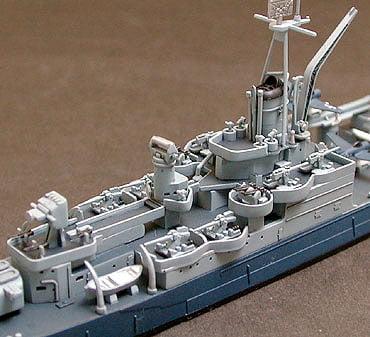 US Navy CA 35 Indianapolis Cruiser Waterline Tamiya 31804 e