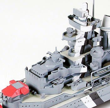 German Prinz Eugen Heavy Cruiser Waterline 700 Scale Tamiya 31805 c