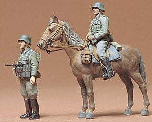 German Wehrmacht Infantry Kit CA153 35 Scale Tamiya 35053