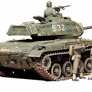 US M41 Walker Bulldog Tank Kit CA155 35 Scale Tamiya 35055