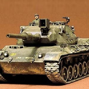 West German Leopard Medium Tank Kit CA164 35 Scale Tamiya 35064