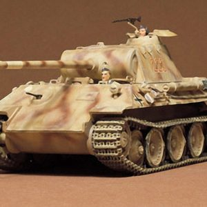 German Panther Med Tank Kit CA165 35 Scale Tamiya 35065