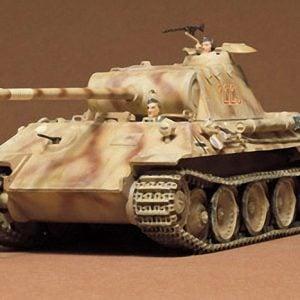 German Panther Med Tank Kit CA165 35 Scale Tamiya 35065