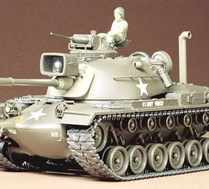 US M48A3 Patton Tank Kit CQ220 35 Scale Tamiya 35120