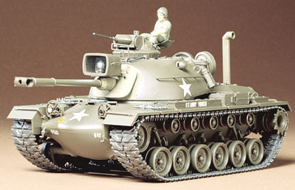 US M48A3 Patton Tank Kit CQ220 35 Scale Tamiya 35120