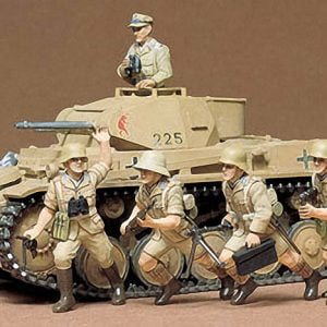 German Pzkpfw II Tank Kit CA109 35 Scale Tamiya 35009