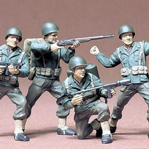 US Army Infantry Kit Set of 4 CA113 35 Scale Tamiya 35013