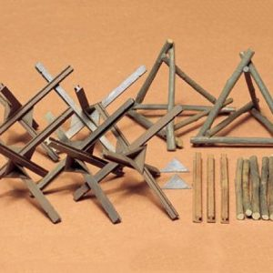 Barricade Set Kit CA127 35 Scale Tamiya 35027