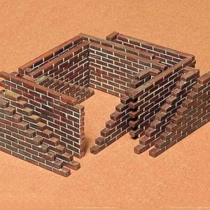 Brick Wall Set Kit CA128 35 Scale Tamiya 35028