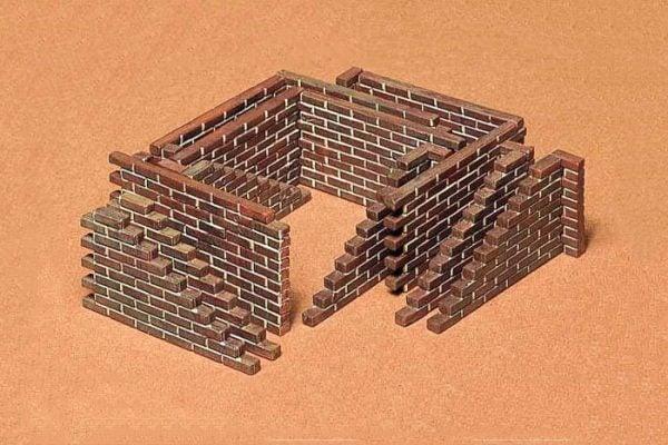 Brick Wall Set Kit CA128 35 Scale Tamiya 35028