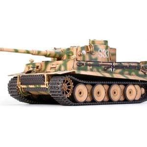 German Heavy Tiger I Late Version Tank Kit CA246 35 Scale Tamiya 35146