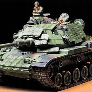 US Marine M60A1 USMC Tank with Reactive Armor 35 Scale Tamiya 35157