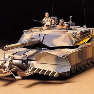 US M1A1 Abrams with Mine Plow 35 Scale Tamiya 35158