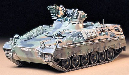 German Schutzenpanzer Marder 1A2 Kit 35 Scale Tamiya 35162