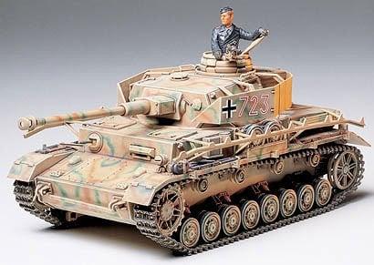 German Panzer Panzerkampfwagen IV Ausf Type J kit 35 Scale Tamiya 35181