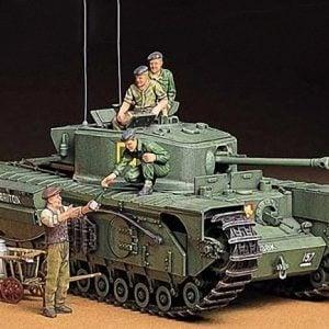 British Churchill Mk VII Infantry Tank Mk IV kit 35 Scale Tamiya 35210