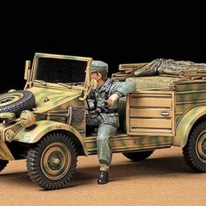German Kubelwagen Type 82 kit 35 Scale Tamiya 35213
