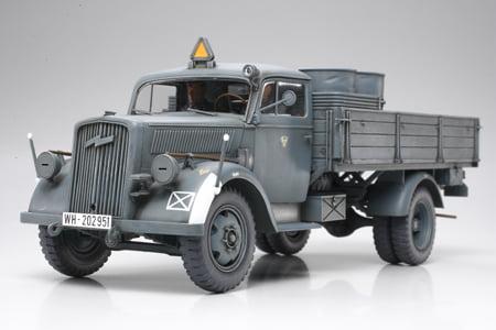 German Opel Blitz 3 Ton 4x2 Cargo Truck Kit 35 Scale Tamiya 35291