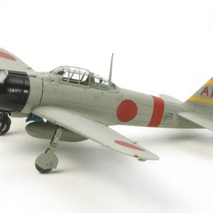 Mitsubishi A6M2b ZEKE Zero Fighter Aircraft Kit 72 Scale Tamiya 60780