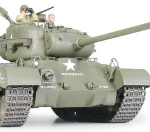 US Medium Tank M26 Pershing Tank Kit 35 Scale Tamiya 35254