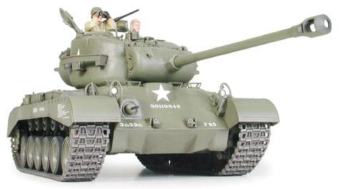 US Medium Tank M26 Pershing Tank Kit 35 Scale Tamiya 35254