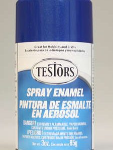 Testors Enamel Spray Paint 1209 Artic Blue Metallic Spray