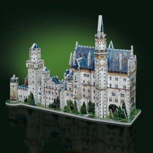Neuschwanstein Castle 3D Puzzle from Wrebbit Front View