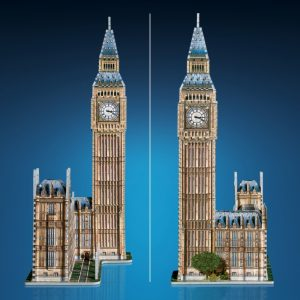 Big Ben 3D Puzzle from Wrebbit View