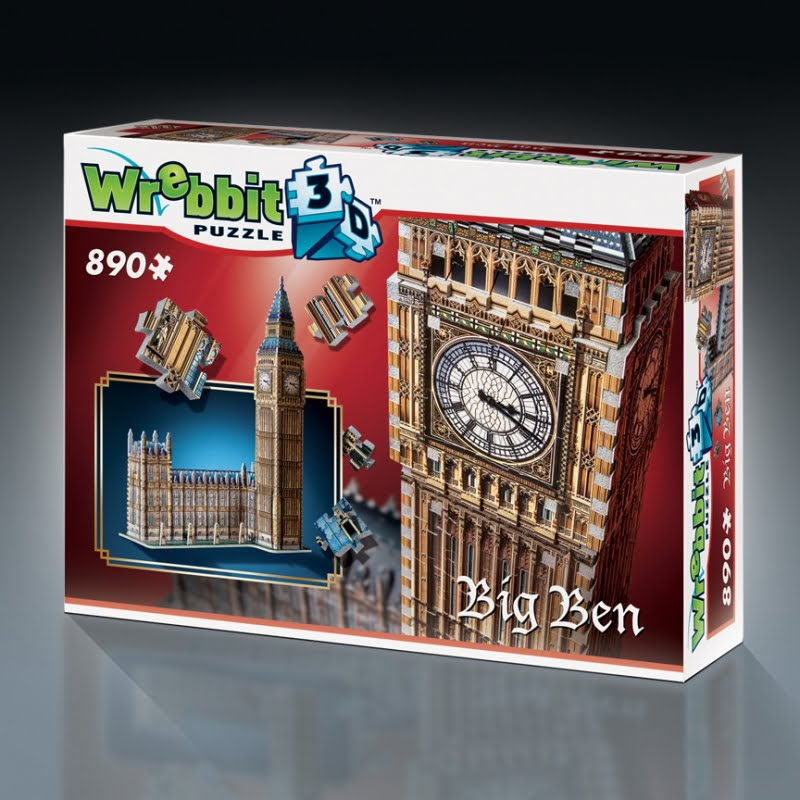 Big Ben 3D Puzzle from Wrebbit