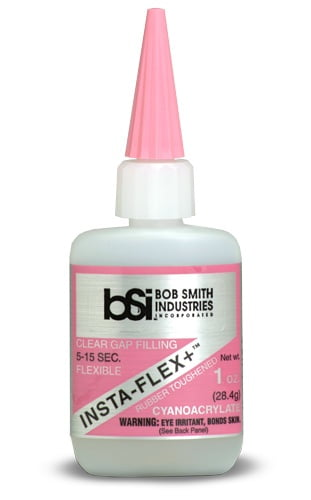 Bob Smith Industries Clear InstaFlex Plus Rubber Toughened 28ml BSI120 BSI 120
