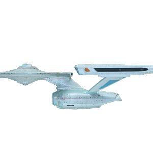 Star Trek Cadet Motion Picture Set USS Reliant, Enterprise Refit, Klingon K'T'in